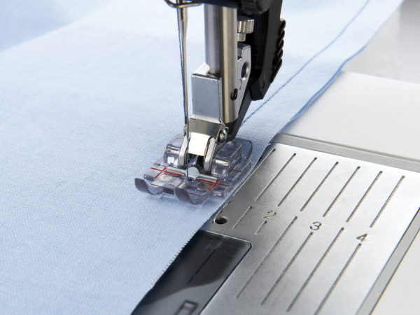 Clear 1/4 Inch Quilting Foot for IDT™ System
