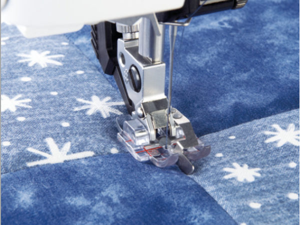 Clear Stitch-In-Ditch Foot for IDT™