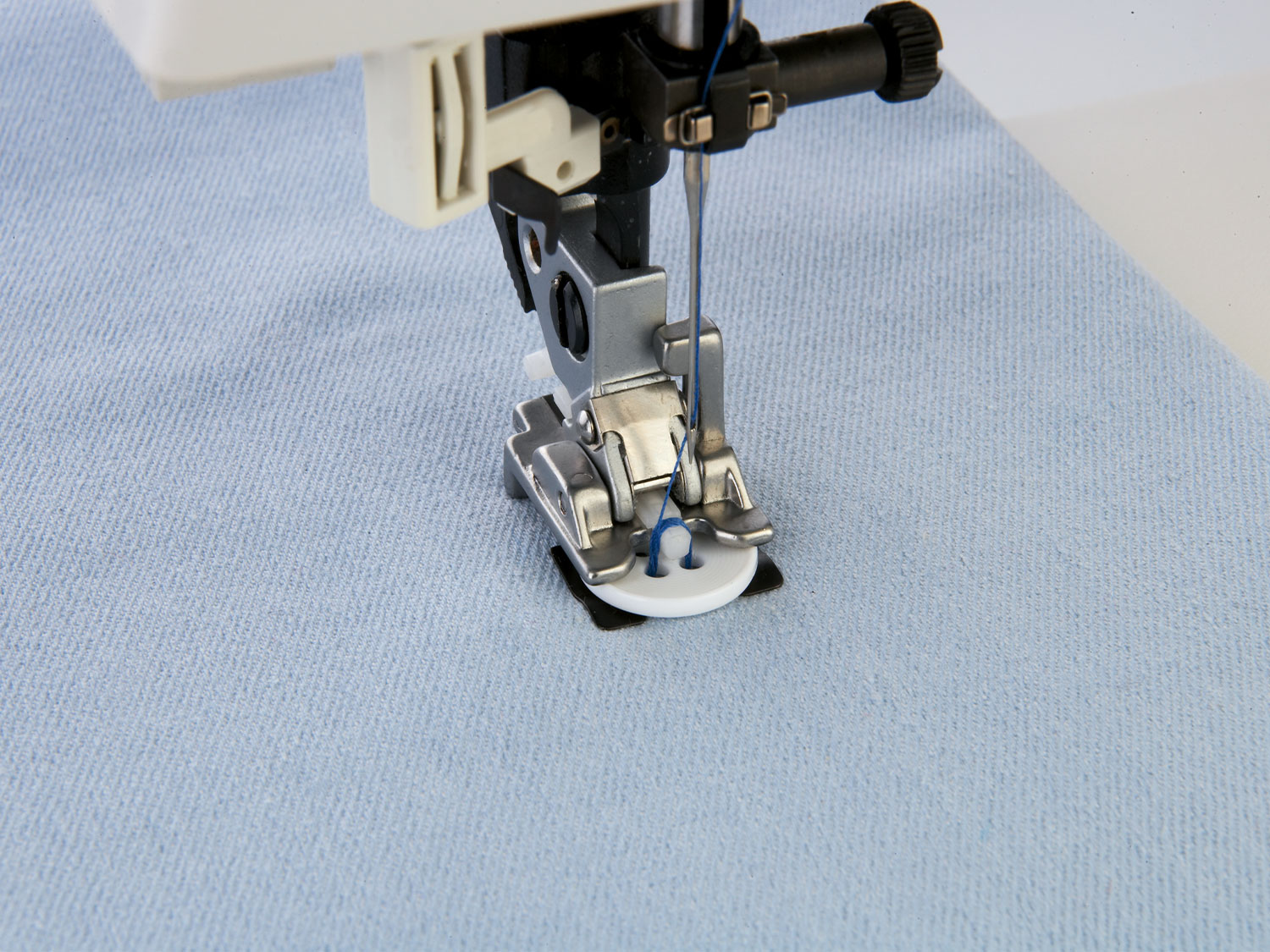 sew on button foot