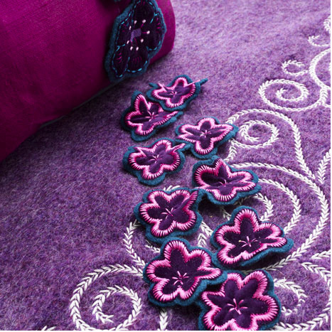 Floral Needlework CD