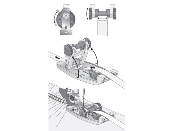 elastic foot illustration