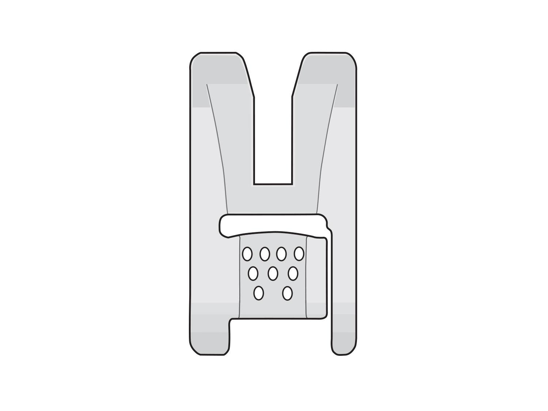 hole cord foot illustration