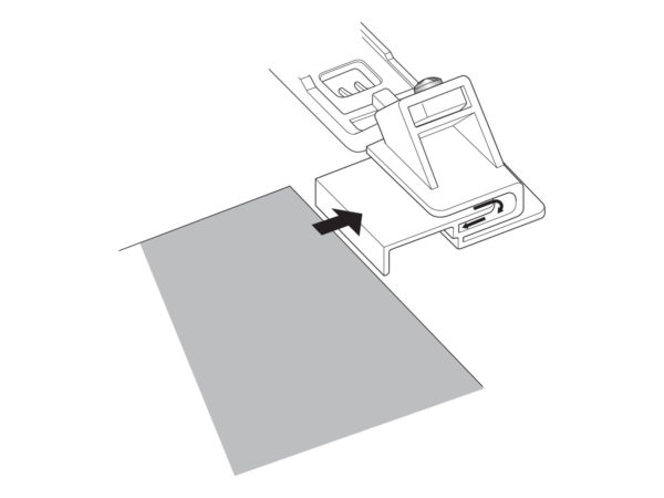 join and fold edging foot illustration