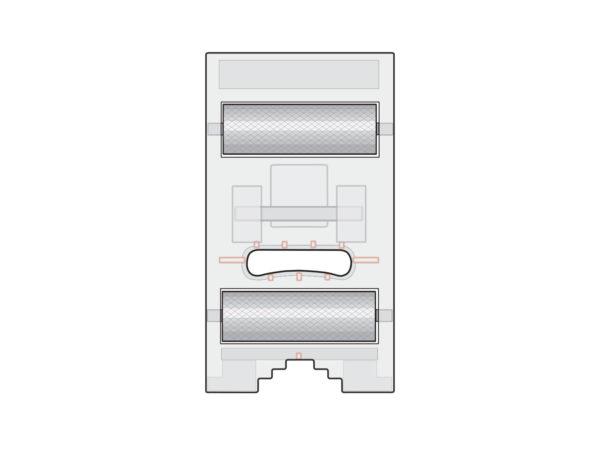 roller foot illustration