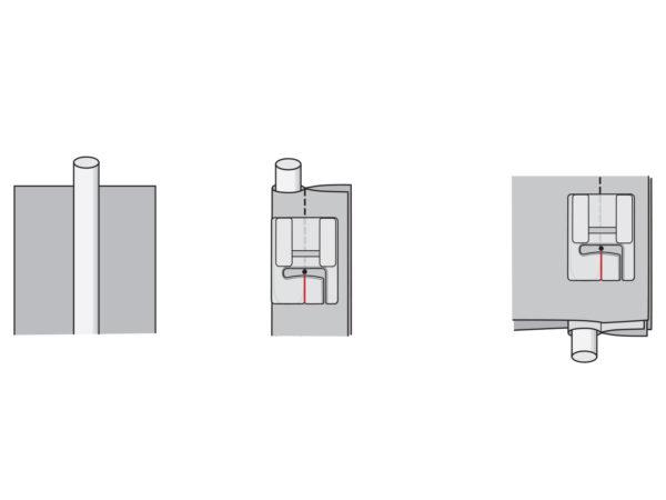 welting foot illustration