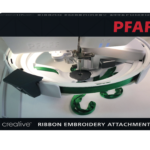 pfaff ribbon embroidery attachment packaging front